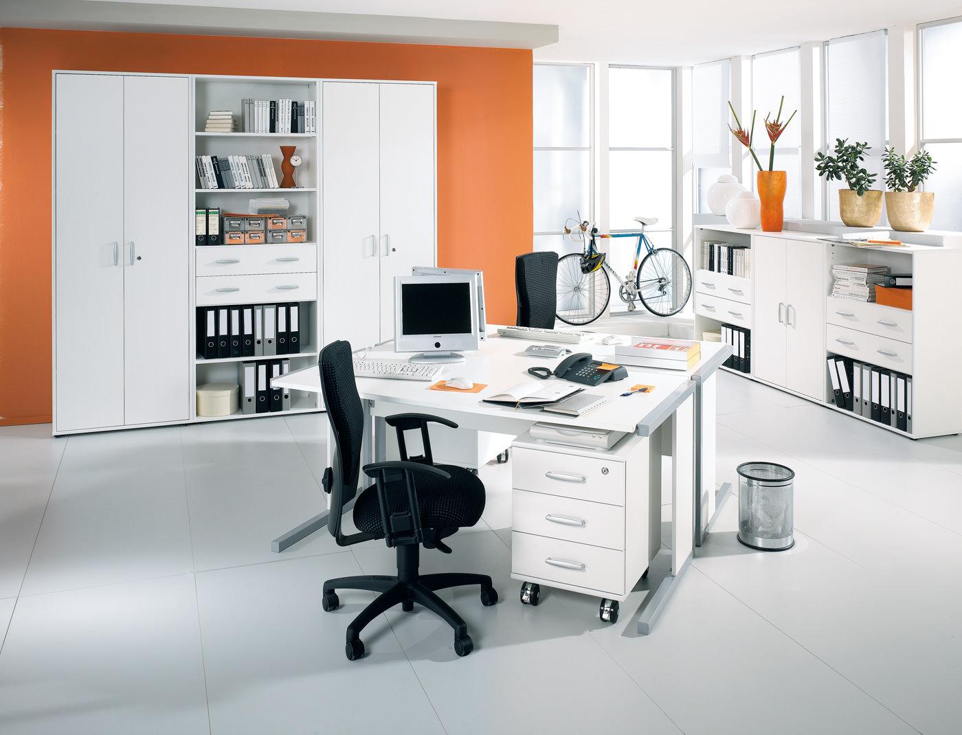 b rom bel f r einen organisierten arbeitsplatz moderne objekteinrichtungen. Black Bedroom Furniture Sets. Home Design Ideas