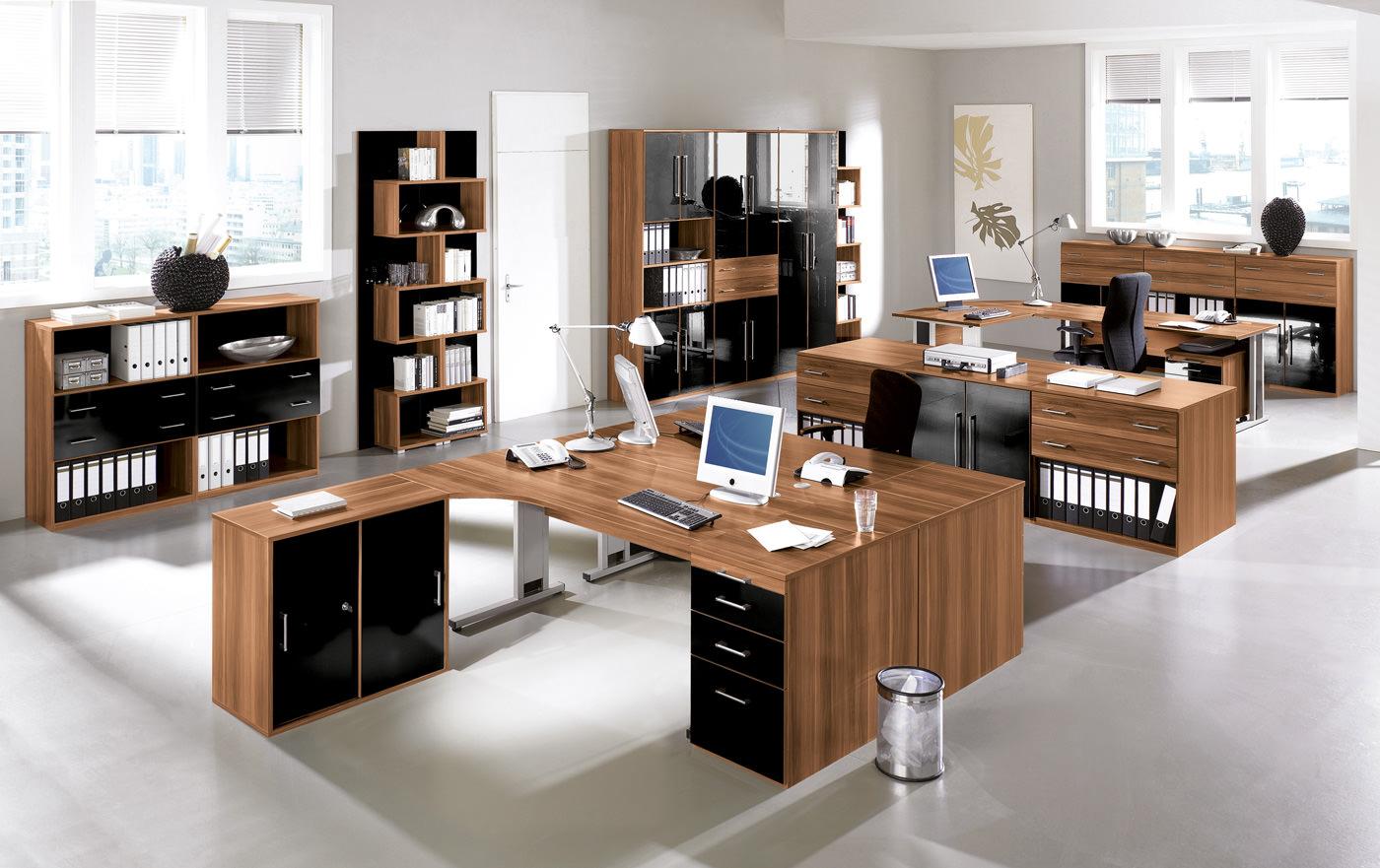 B rom bel f r einen organisierten arbeitsplatz moderne for Buero moebel